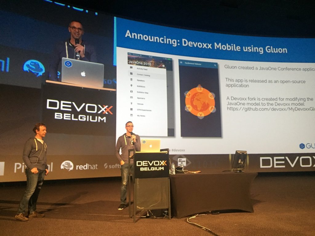Gluon @ Devoxx