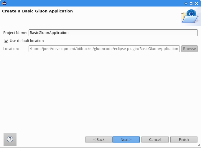 The new Gluon Plugin for Eclipse - Gluon